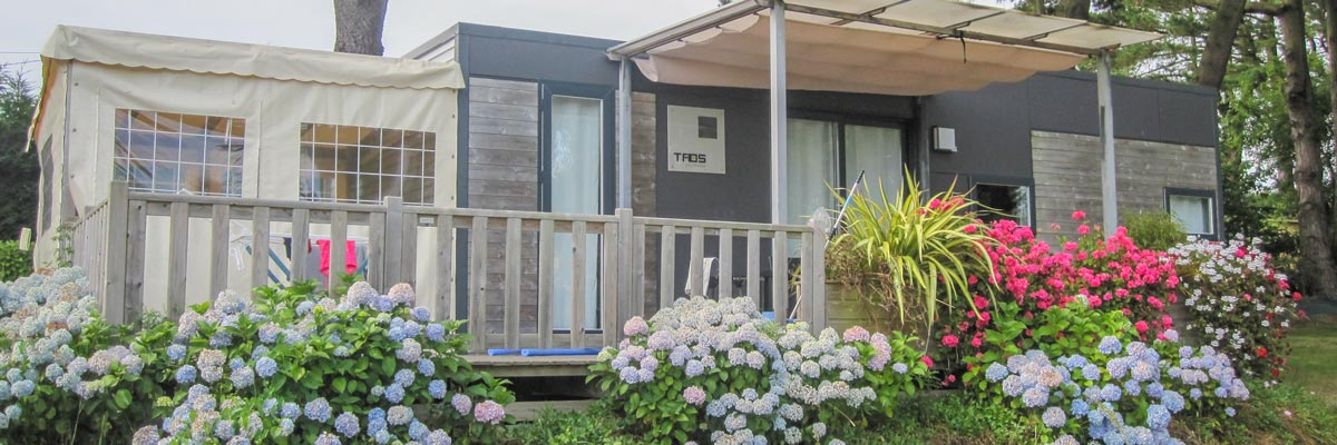 location chalet camping bretagne