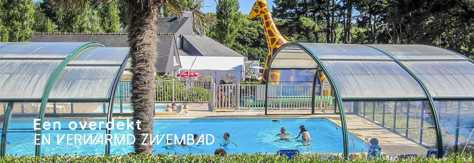 camping bretagne piscine