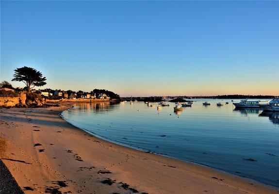 vacance à roscoff plage