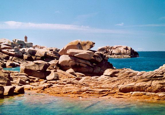 camping proche des côtes de granit rose