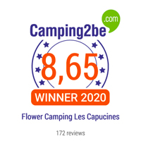 camping2be award capucines